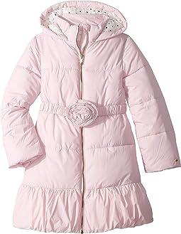 Rosette Puffer Coat (Little Kids/Big Kids)