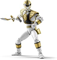 Hasbro Power Rangers Lightning Collection 6-Inch Mighty Morphin White Ranger Collectible Action Figure