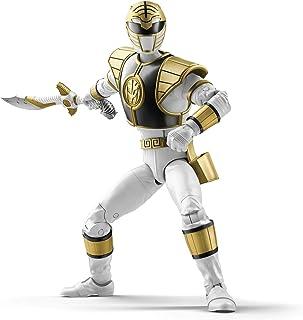 Hasbro Power Rangers 闪电系列 6 英寸 Mighty Morphin White Ranger 可收藏人偶