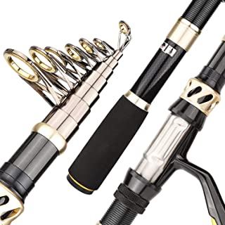 Richly Shop Carbon Fiber Portable Telescopic Fishing Rod 1.8M 3.3M Sea Carp Fishing..