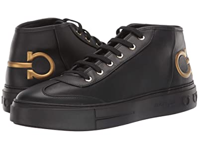 Salvatore Ferragamo Angel Sneaker (Black) Men