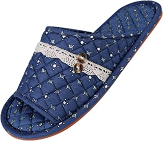 Home Travel Spa Slippers Portable Guest Indoor House Room Party Washable Shoes