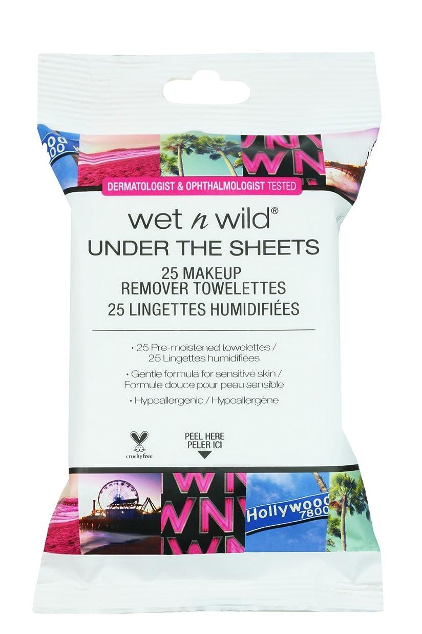 頭痛膨らみかけがえのないWET N WILD Under the Sheets Makeup Remover Wipes - 25 Towelettes (並行輸入品)