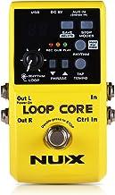 Pedal de efeito elétrico de guitarra NUX Loop Core 6 horas de tempo de gravação Padrões de bateria integrados-pekdi