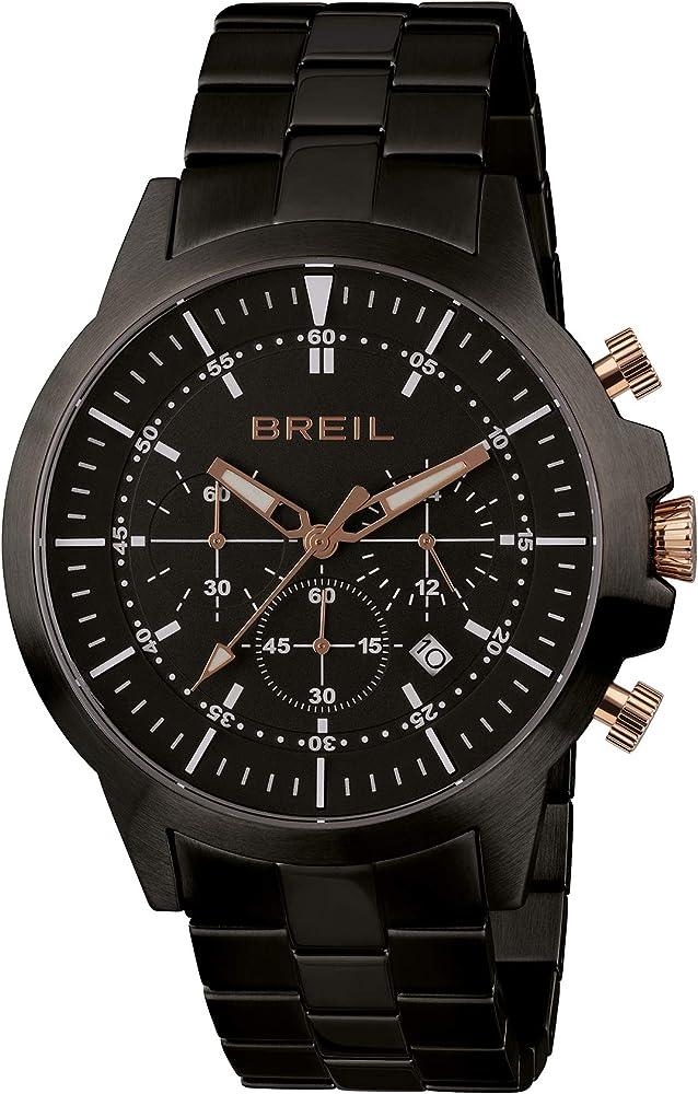 Breil,orologio,cronografo per uomo,in acciaio inossidabile TW1839