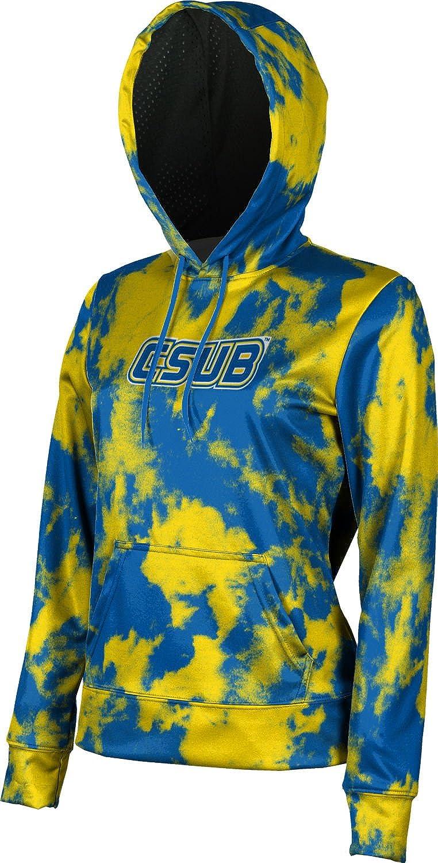 ProSphere California State University, Bakersfield Girls' Pullover Hoodie, School Spirit Sweatshirt (Grunge)