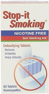 NatraBio Stop-It Smoking Detoxifying - 60 Tablets