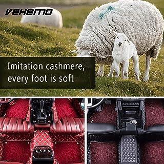 Vehemo 5 Colors Car Floor Mat Cover Foot Pad Durable Car Carpet Door Mat Premium Front Rear