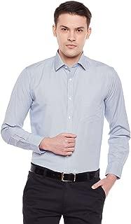 Lamode Men's Stripe Blue Stripe Formal Shirt870