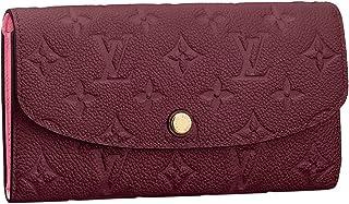 6eacbced7015 Louis Vuitton Monogram Empreinte Leather Emilie Wallet Raisin Article   M62015 Made in France