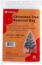 VICMORE Christmas Tree Removal Bag Premium Grade 144-Inch Circumference by 108-Inch Tall Waterproof Tree Storage Bag Tree Disposal Bag