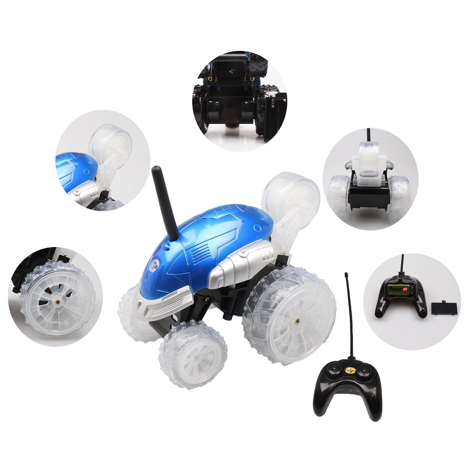 GranVela® yinrun 10031 RC Monster Spinning coche extrema ...