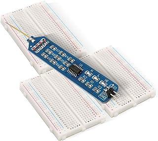 KYYKA 3PCS Breadboard 400 punten L gratis prototype PCB Board Kit Protoboard f¨¹r Arduino (met logica sonde)