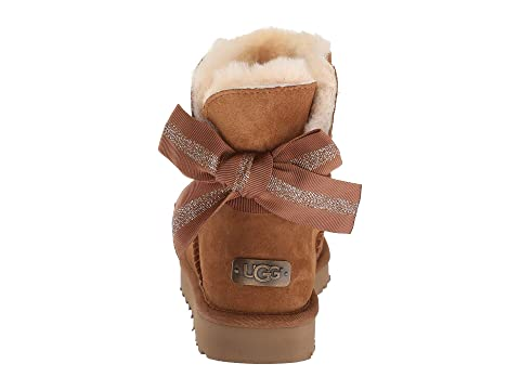 Personnalisable Arc Blackcharcoalchestnutribbon Redseashell Rose Mini Ugg Bailey AfqOw6