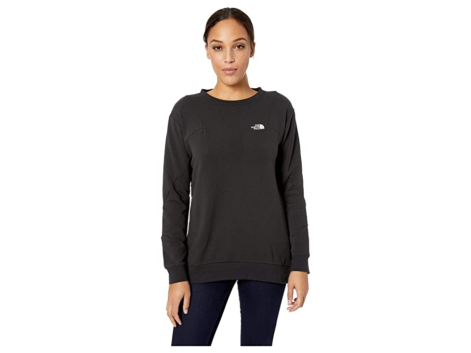 The North Face Train N Logo Pullover (TNF Black/TNF Black) Women