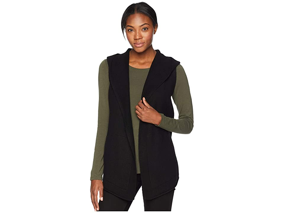 Toad&Co Merino Heartfelt Vest (Black Heather) Women