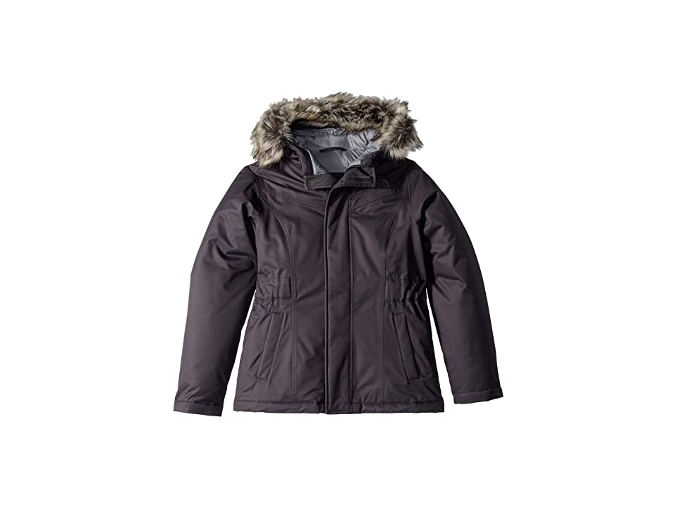 The North Face Kids Greenland Down Parka (Little Kids/Big Kids) (Periscope Grey) Girl
