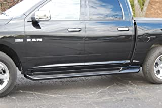 Owens Products 3171 Glastep Plus Custom Molded Running Boards 09-11 Ram 1500 5.6 Ft W/O Flares Crew Cab Fiberglass Gray