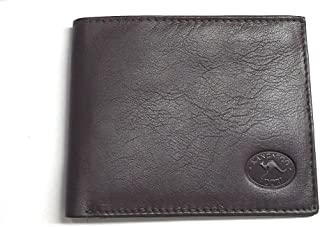 KW 2096 Kangaroo Leather Mens Wallet With 2 Note Compartments 6 Credit Card Pockets and Coin Pocket