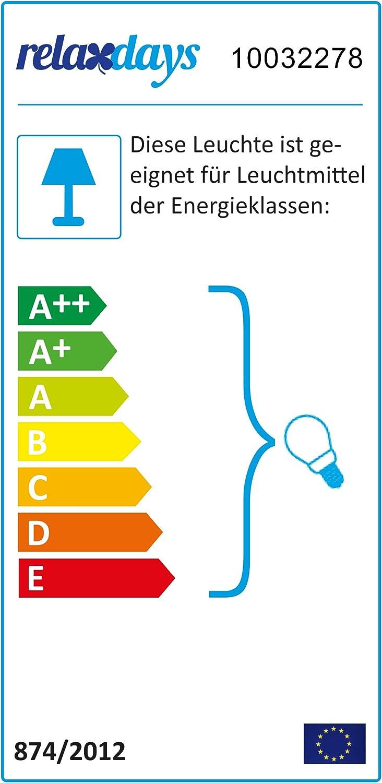 rosa//wei/ß M/ädchen Relaxdays Kinderzimmerlampe H x D: 126 x 27 cm H/ängelampe mit Herz-Motiv E27 runder Stoffschirm