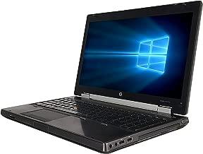 HP Laptop 8570W Intel Core i7-3720QM 2.60GHz 8GB DDR3 Ram 500GB Hard Drive DVD Windows 10 Pro (Renewed)