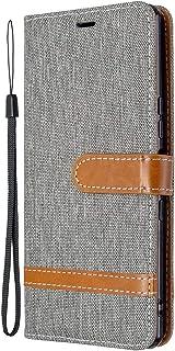 Custodia in pelle per Sony Xperia L4, con scomparto per carte di credito e funzione di supporto, per Sony Xperia L4 – EYBF...
