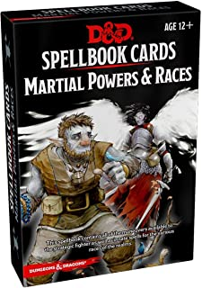 Spellbook Cards: Martial (Dungeons & Dragons)