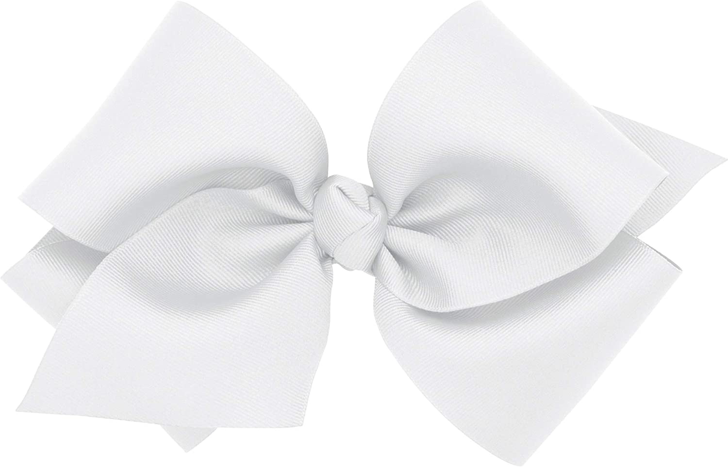 Wee Ones Baby Girls' Huge Classic Grosgrain Hair Bow on a Barrette w/Knot Wrap Center