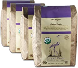product image for Great River Organic Milling Organic Quinoa Grain, 5 Pound, 4 Count