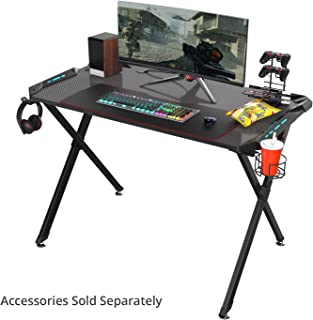 l shaped gaming desk setup
