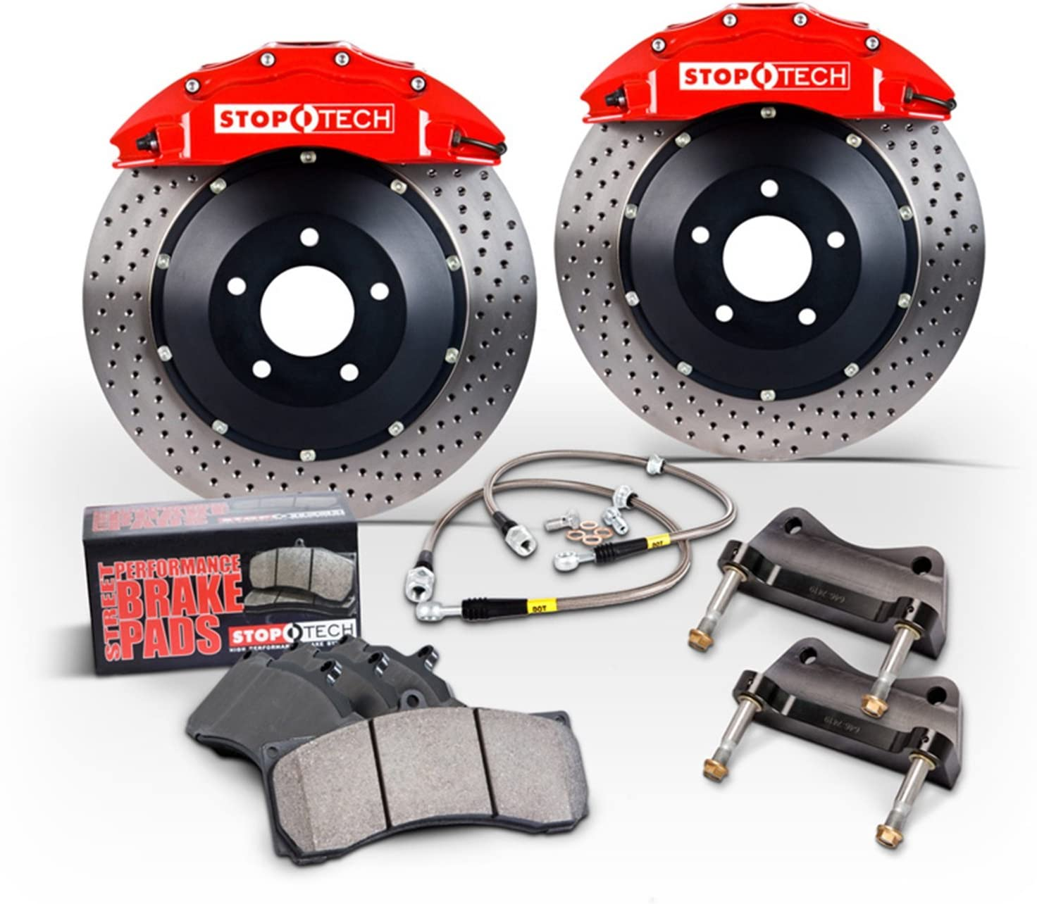 StopTech National Sale item products 83.263.0047.21 Big Brake Pack Kit 1