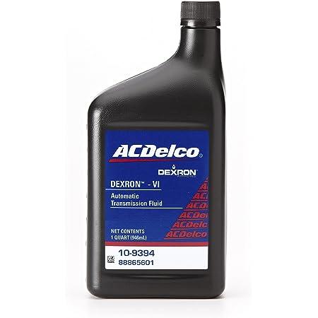 dexron acdelco transmission fluid automatic qt gal
