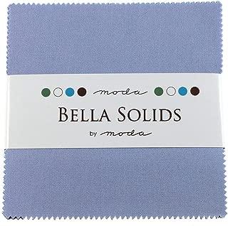Bella Solids Baby Blue Moda Charm Pack by Moda Fabrics; 42-5