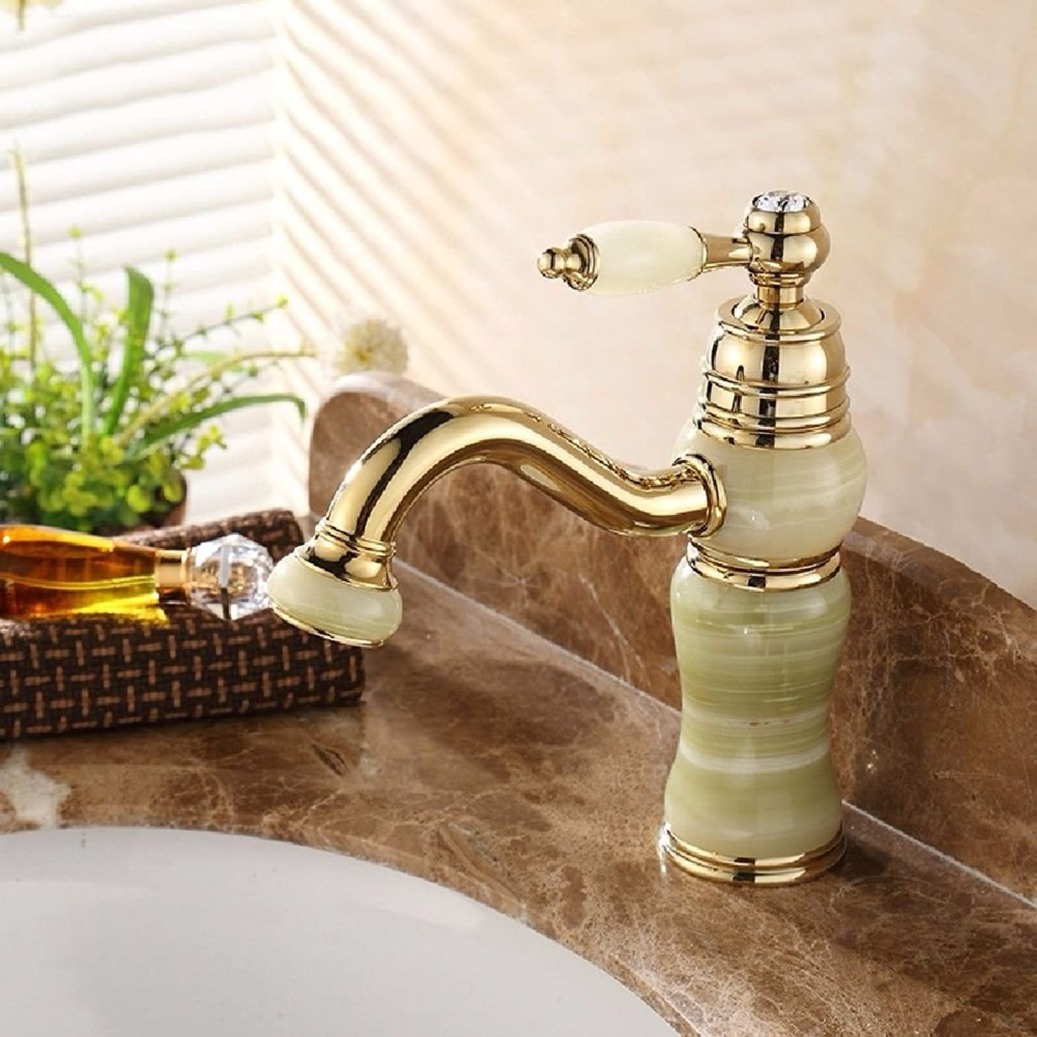 NewBorn Faucet Kitchen Or Bathroom Sink Mixer Tap Basin Taps Full Copper Cold Water Cabinet Wash B