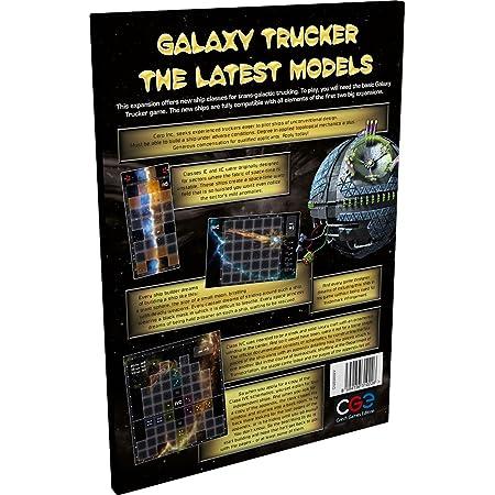 ギャラクシートラッカー (Galaxy Trucker: Latest Models) ボードゲーム