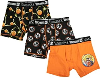 Dragon Ball Z Boxer Brief 3-Pack Underwear for Boys