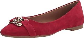 حذاء باليه مسطح حريمي Candice من Aerosoles أحمر اللون 7. 5