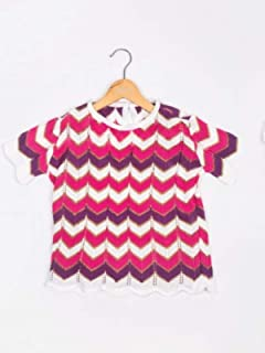 Blusa tricot roxa - Mariagirl Tamanho:4;Cor:Roxo