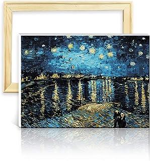 Vaso con Iris Van Gogh Kit punto croce