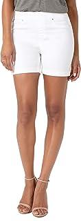 [リバプール] レディース デニム Liverpool Chloe Pull-On Denim Shorts [並行輸入品]