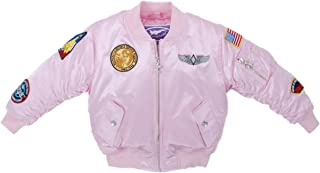 Up and Away Girls' MA-1 Flight Jacket