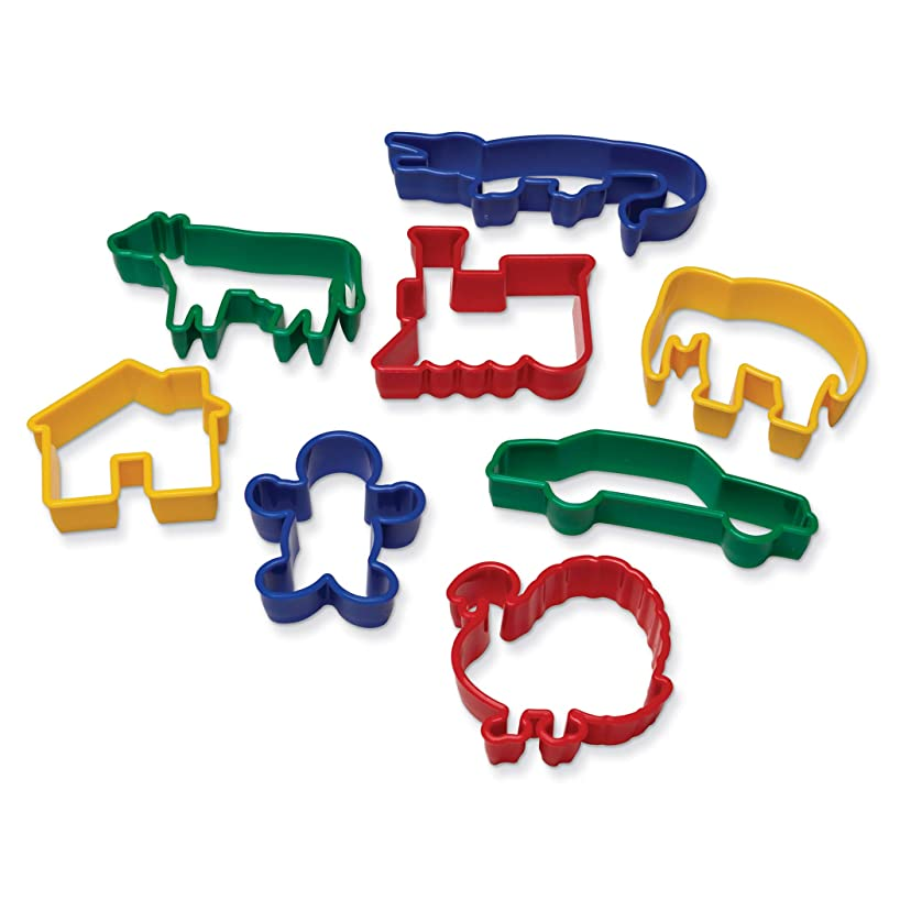 Chenille Kraft CK-9766 Animal Shapes Dough Cutters, 0.8