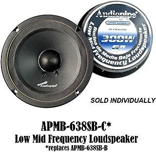 "Audiopipe 6"" 6.5"" Sealed Back Full Range Mid Loudspeaker Car Audio APMB-638SB-C photo"