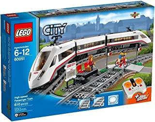 lego white train