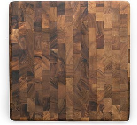 Ironwood Charleston End Grain Chef's Board Wooden Cutting Board, Brown, IW28218