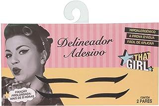 That Girl Delineador Adesivo Preto 2 Pares, That Girl