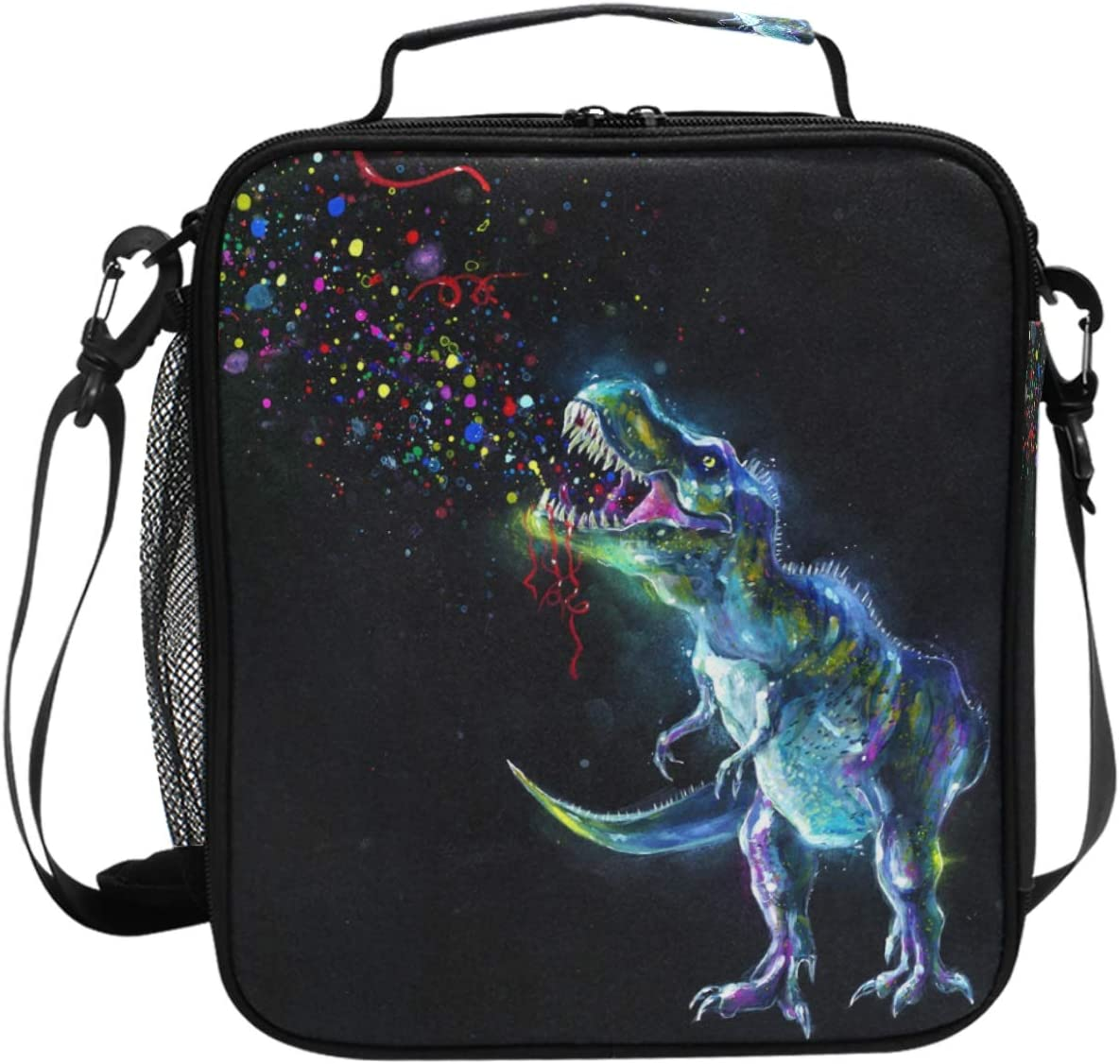 Popular brand Galaxy Dinosaur Lunch Box 3D Bag Insulated Animals Our shop most popular Dino Co