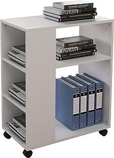 soges Rangement Imprimante,Supports Imprimantes,Table d'imprimante,Chariot Latéral,Chariot de Bureau,Support d'imprimante ...