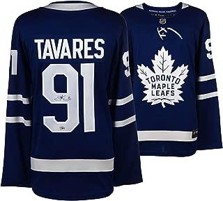 John Tavares Toronto Maple Leafs Autographed Blue Fanatics Breakaway Jersey - Fanatics Authentic Certified