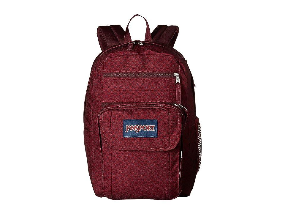 JanSport Digital Student (Geo Block Print) Backpack Bags